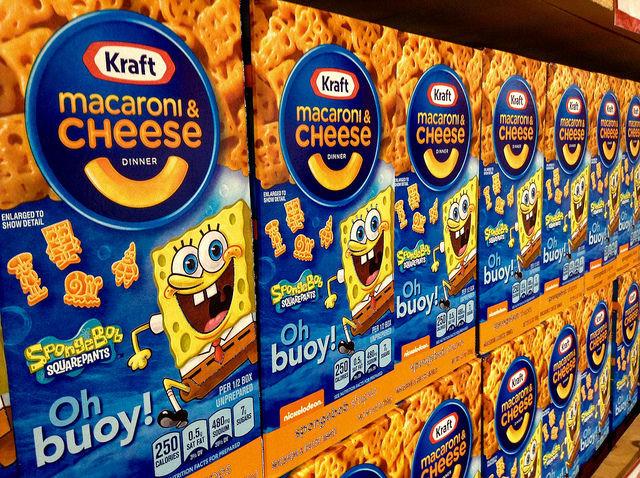 Kraft Mac & Cheese boxes