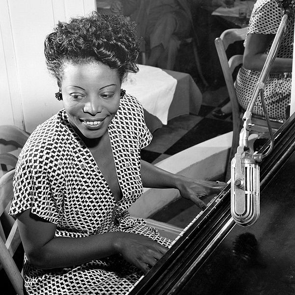 Jazz pianist Mary Lou Williams