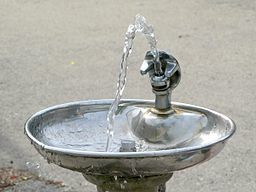 Bubbler, image by Wikimedia Commons user Sulfur