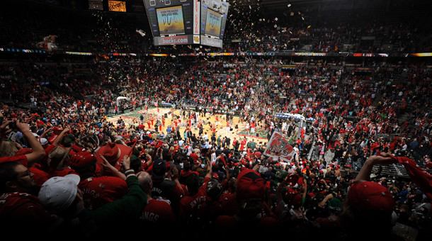 Milwaukee Bucks playoffs crowd