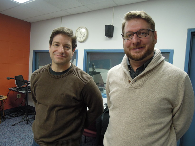 State Rep. Chris Danou and John Kovari