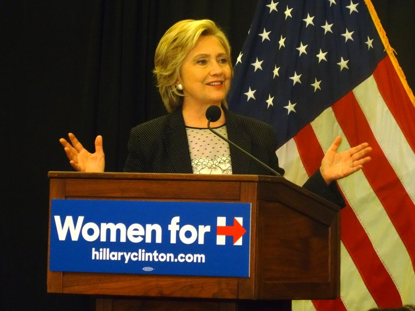 Hillary Clinton campaign in Milwaukee