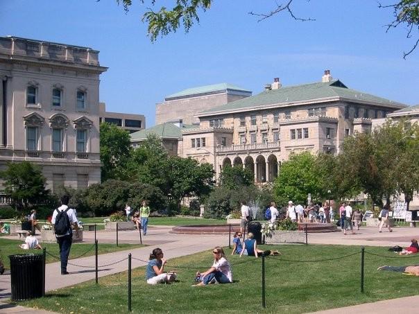 Memorial Union on the UW-Madison campus