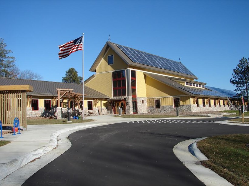 solar panels on Necedah National Wildlife Refuge
