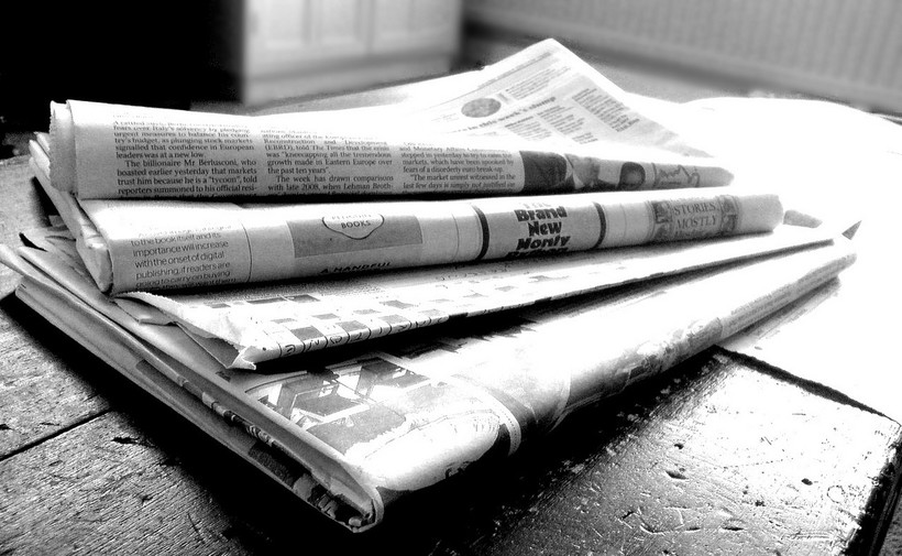 Newspapers news print
