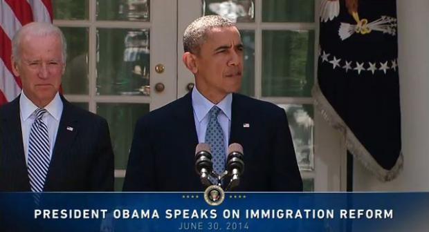 President Obama speaks on immigration reform