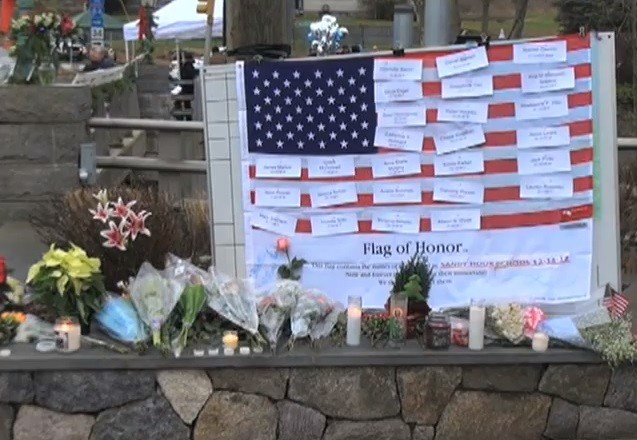 Sandy_Hook_Memorial, image by the Voice of America