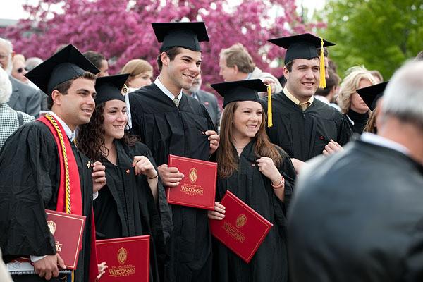 University of Wisconsin graduates