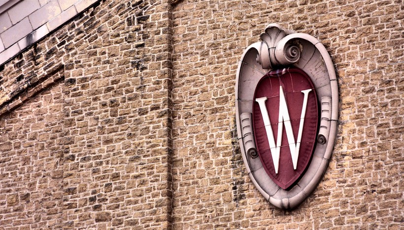 "University of Wisconsin ""W"" shield"