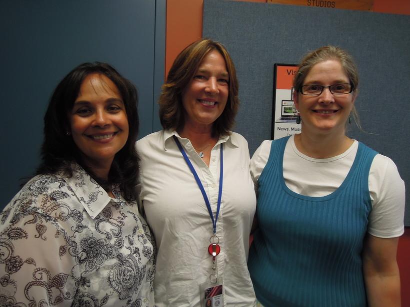 Judge Ramona Gonzalez, Becky Spanjers, and Jane Klekamp.