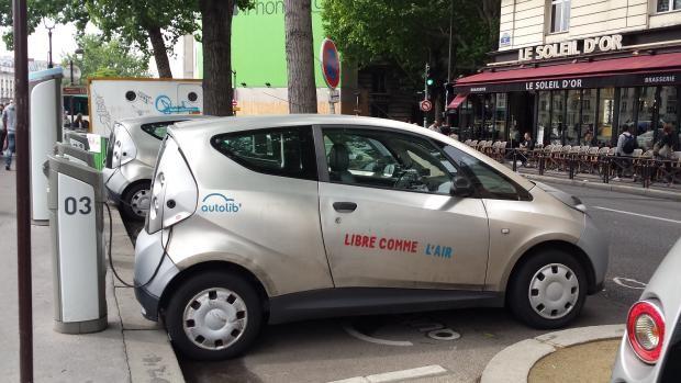 electric car in Paris, Judith Siers-Poisson
