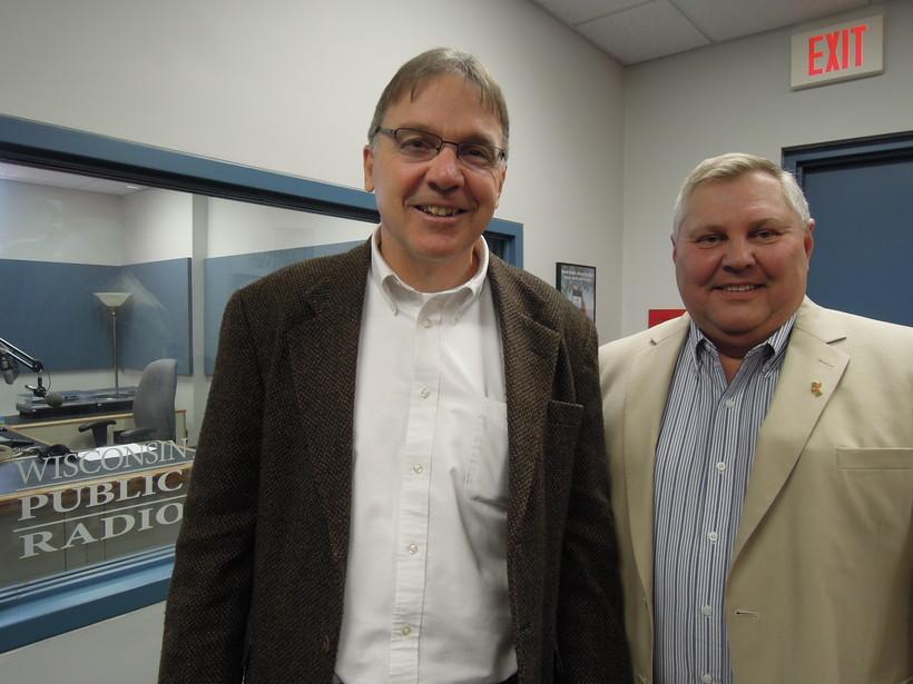 Larry Kirch and Ed Pryztarski