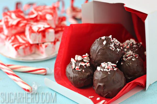 Hot chocolate truffles, Elizabeth LaBau