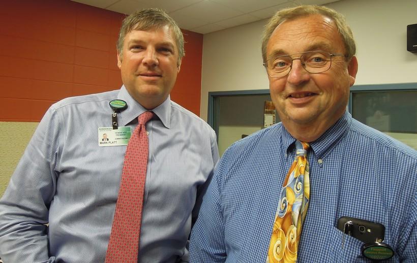 Mark Platt and Jerry Arndt