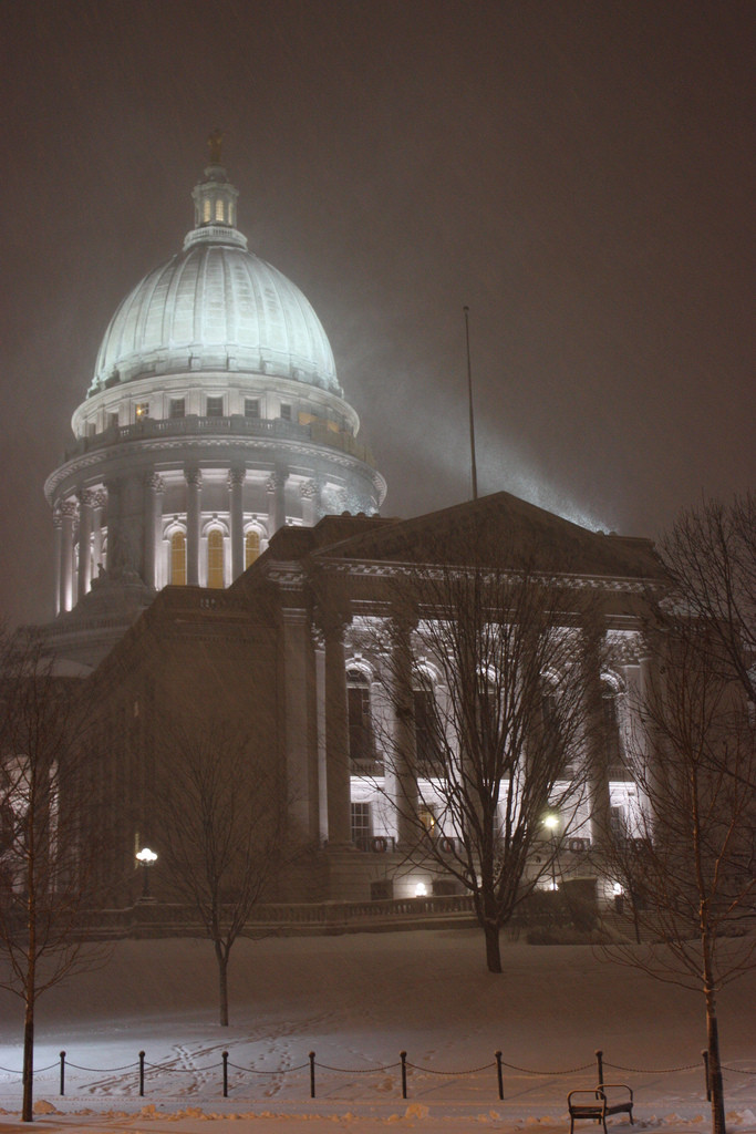 Snowy Capitol