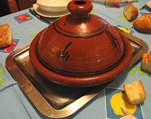 tajine, image by Wikimedia Commons user Iron Bishop