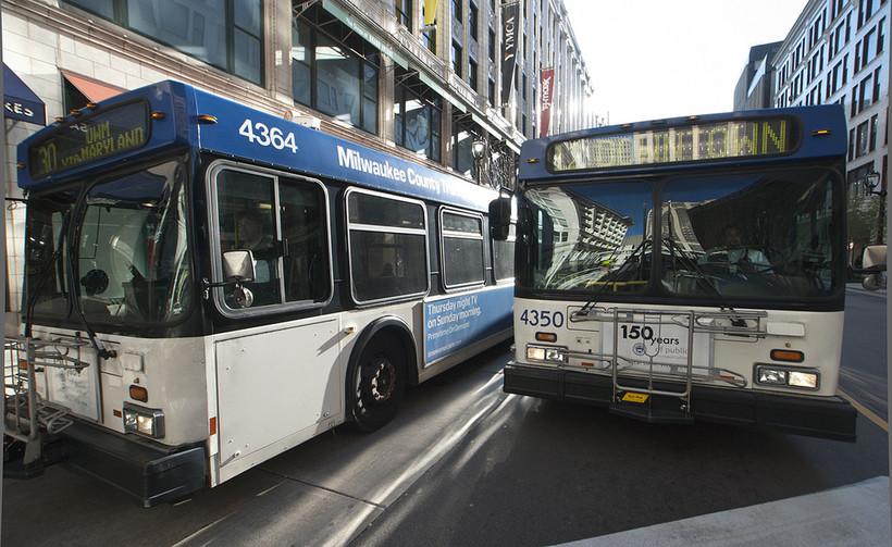 Milwaukee County buses