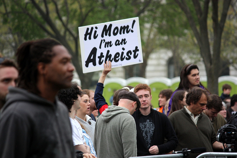 atheist protest