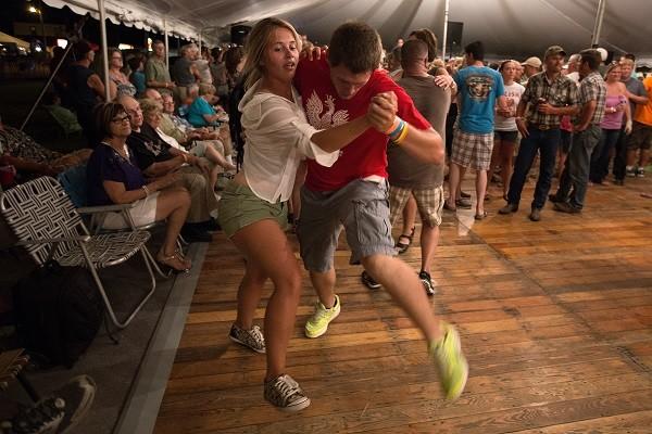 teens polka dancing