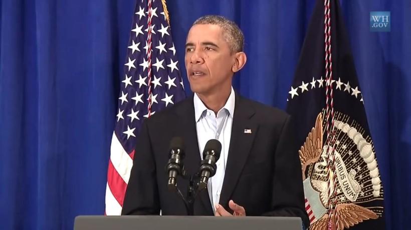 President Obama speaks on the murder of James Foley