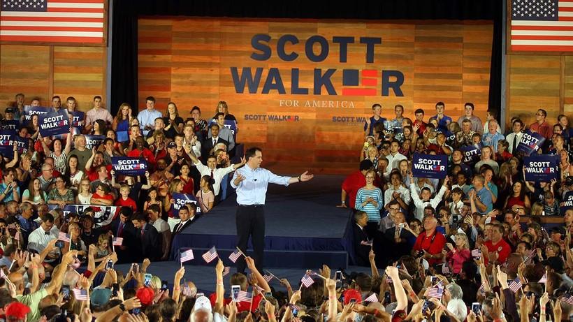 Scott Walker announces his run for president
