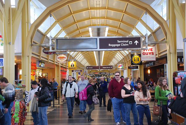 airport terminal, Adam Fagen (CC-BY-NC-SA)