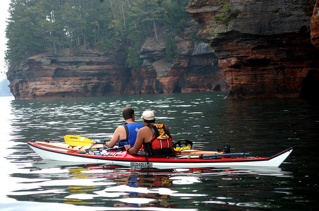 kayaking, WI Department of Natural Resources (CC-BY-ND)