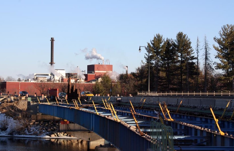 Paper mill in Mosinee