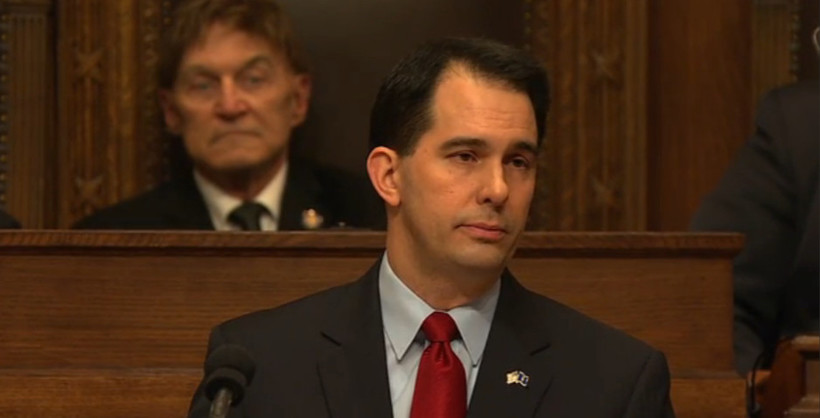 Gov. Scott Walker, during his State of the State address 1/22/2014