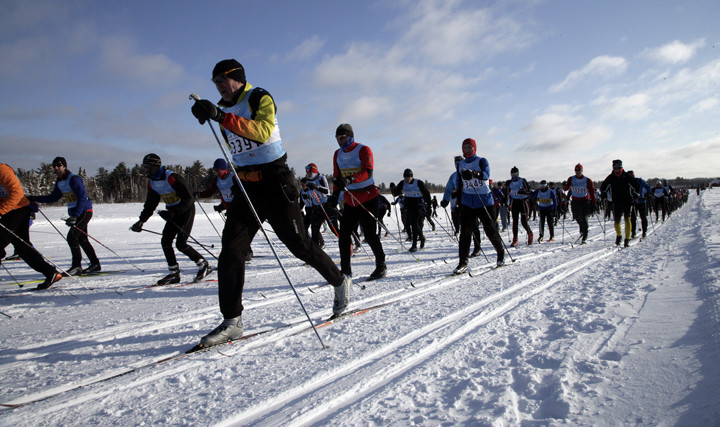 Photo of the American Birkebeiner, as shot by Paul M. Walsh