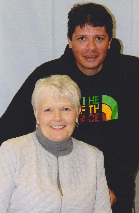 Dianne Hendrickson and her son Eric, a sex offender confined to Sand Ridge Secure Treatment Center.