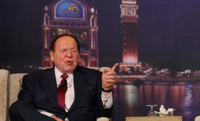 Casino magnate Sheldon Adelson
