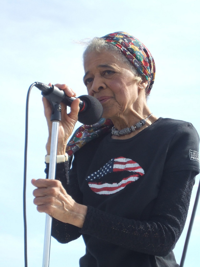 Vel Phillips at March on Milwaukee - 2007