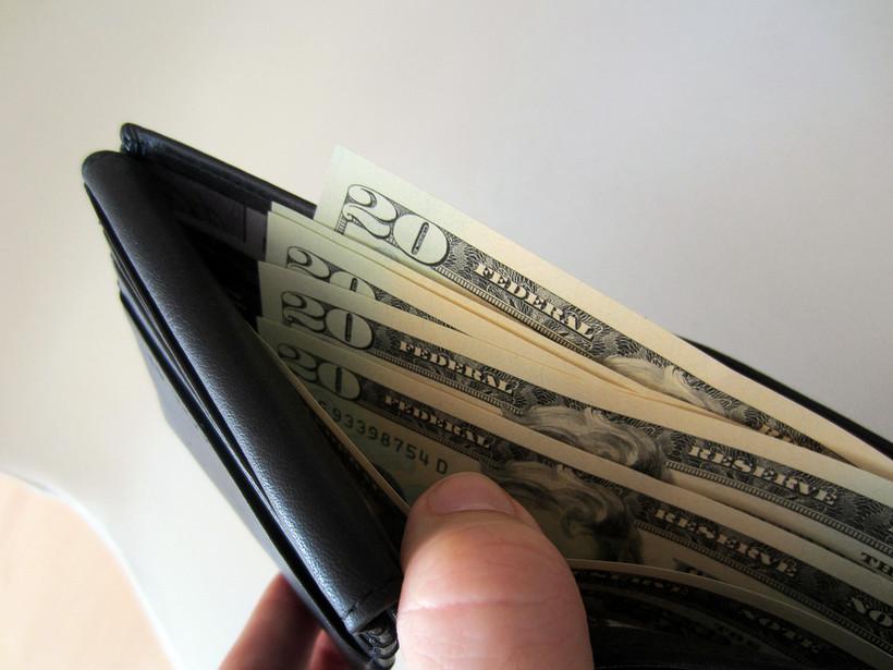 money, 20 dollar bills
