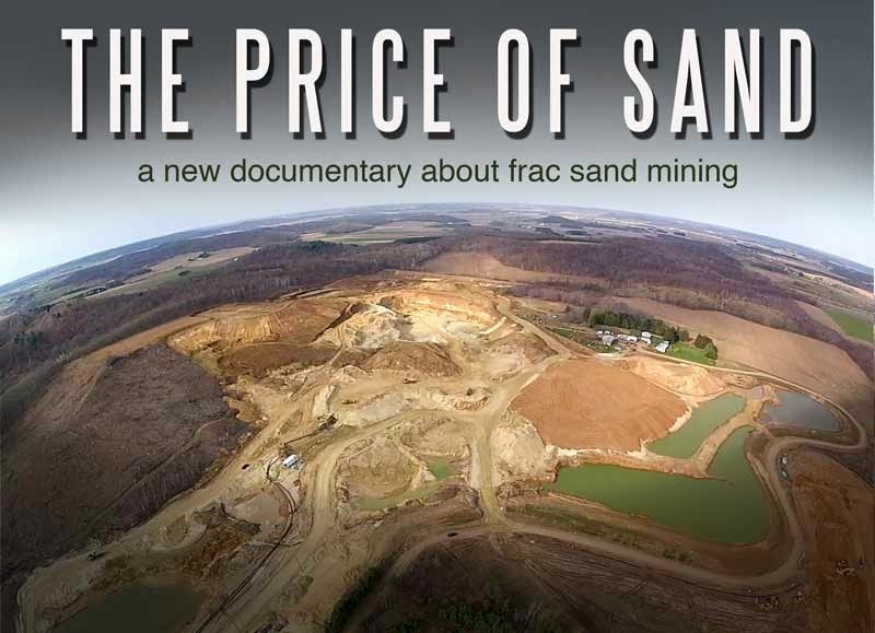The Price of Sand documentary logo
