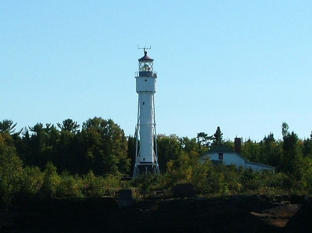 Devil's Island Light house, in the Apostle Islands