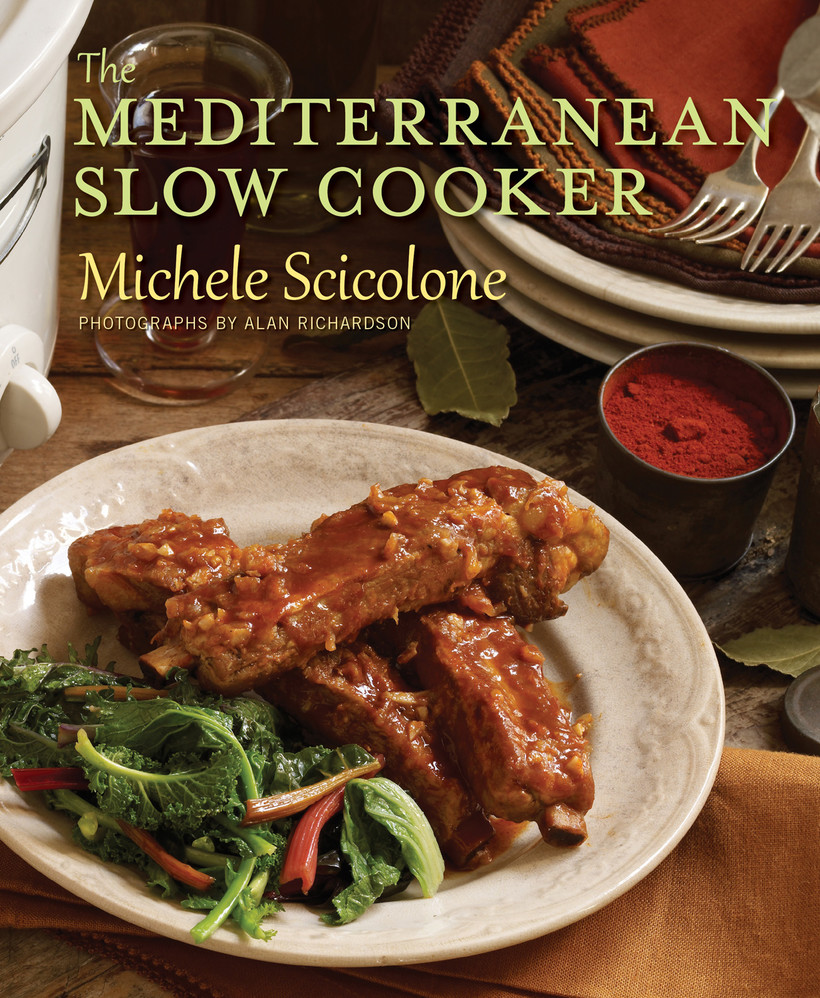 """Book Cover for """"The Mediterranean Slow Cooker"""""""