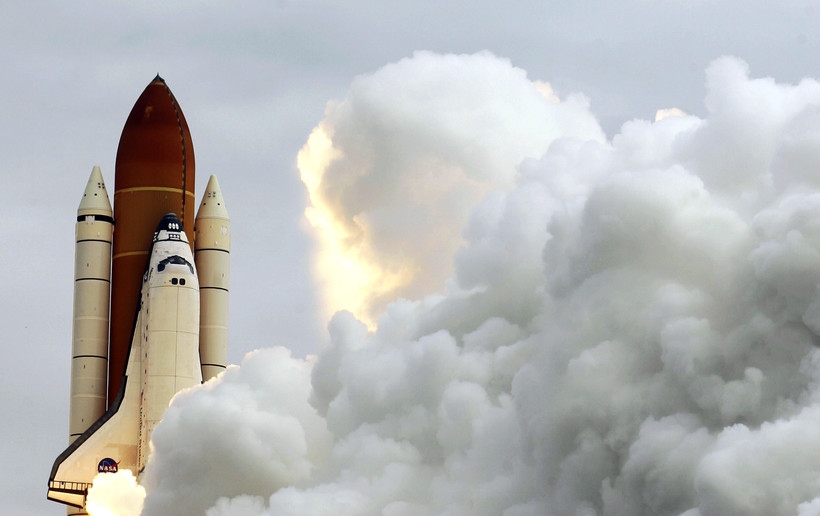 Space shuttle Atlantis lifts off in May2009