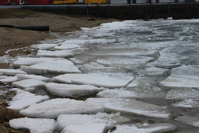 Great Lakes, ice