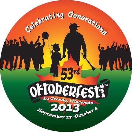 2013 La Crosse Oktoberfest button