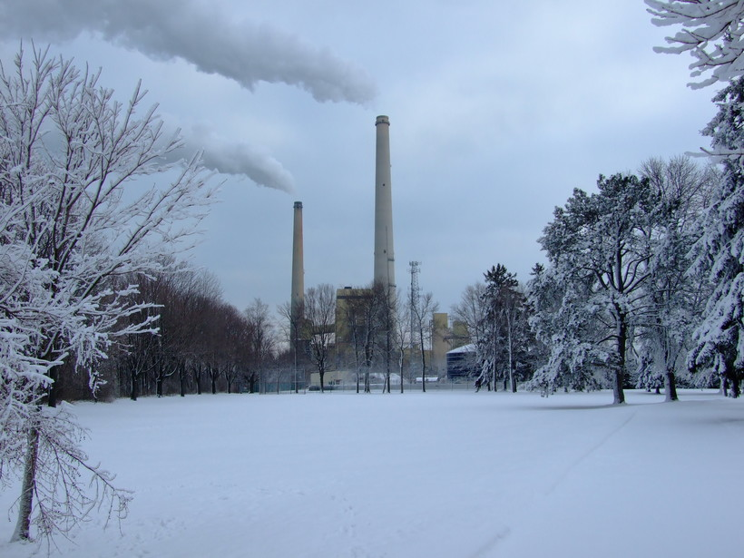 Coal-fired power plant in Sheboygan