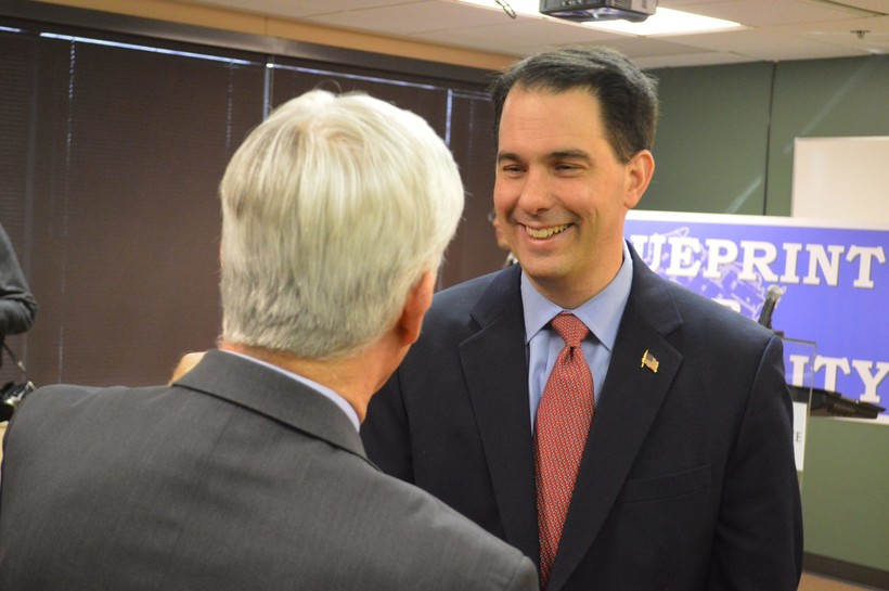 Gov. Walker at Waukesha Co. Business Alliance