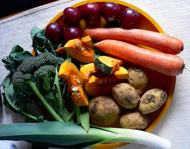 bowl of vegetables