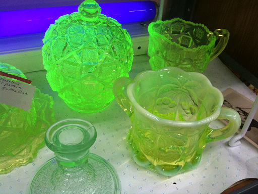 Glass Collection, image by Wikimedia Commons user Nerdtalker