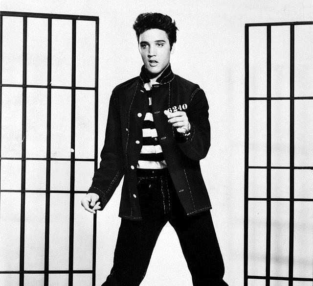 """Elvis Presley in """"Jailhouse Rock"""""""