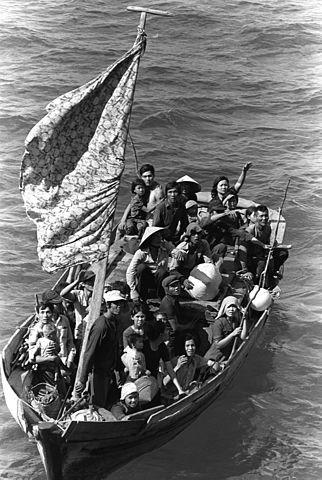 Vietnamese boat people, PH2 Phil Eggman