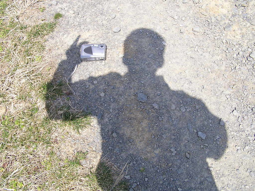 shadow taking photo
