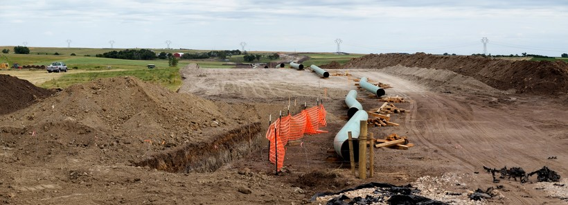 Construction of Dakota Access Pipeline