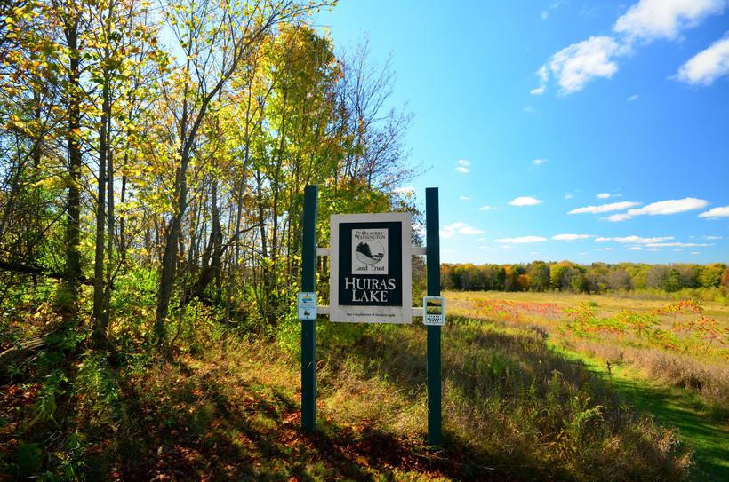 Ozaukee Land Trust Sign