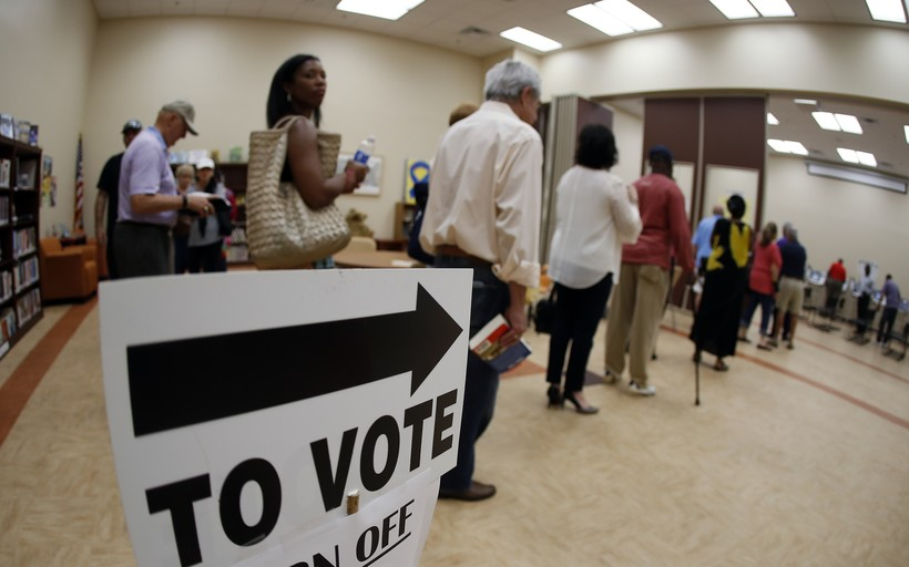 Line to vote
